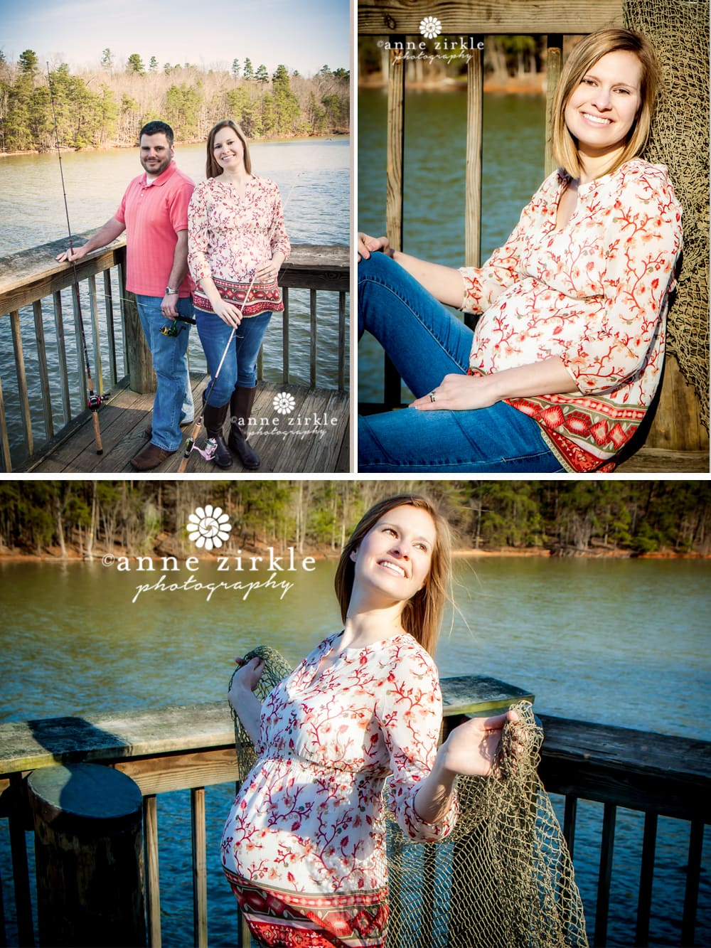 Fishing Themed Maternity Photos