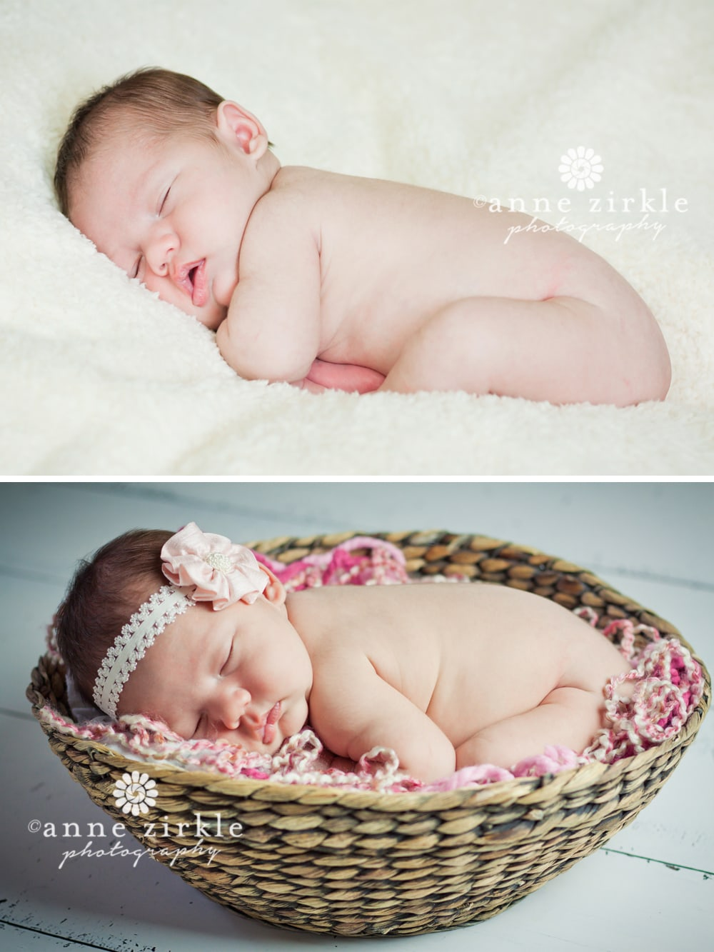 Lake Norman newborn studio photography