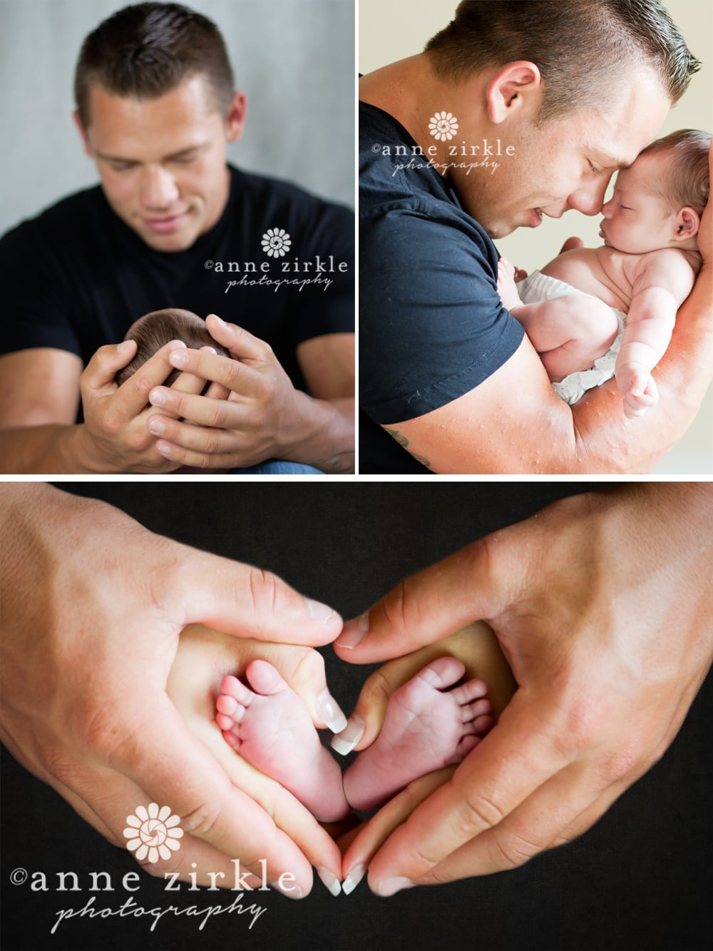 Mooresville newborn studio session