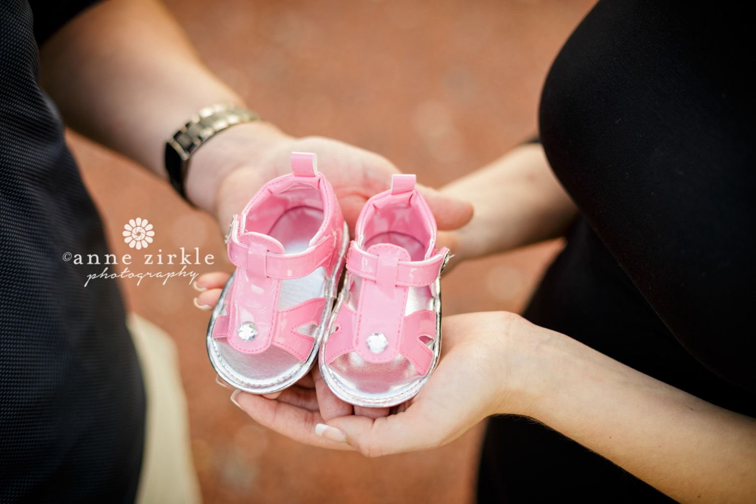 gender-reveal-pink-baby-shoes