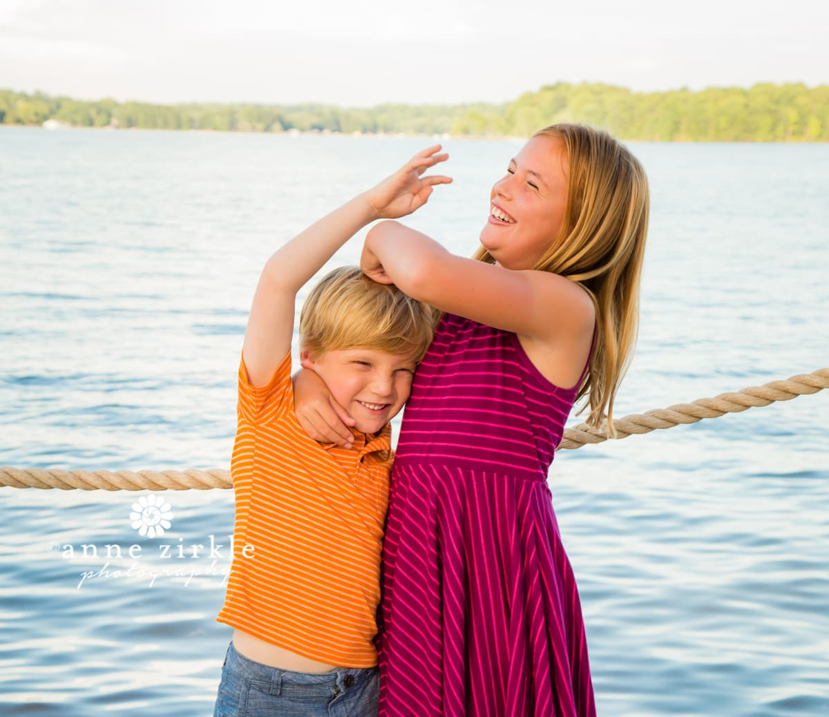 kids-goofing-off-by-lake